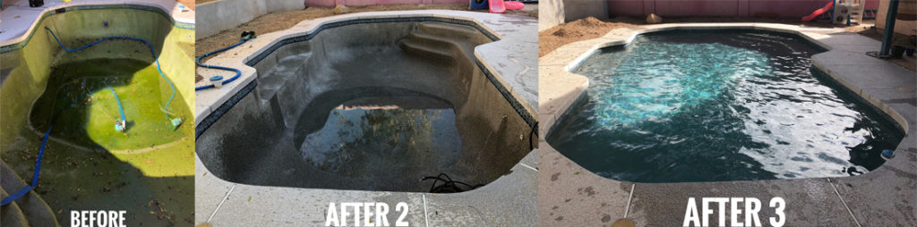 Pool Care One - Before & After